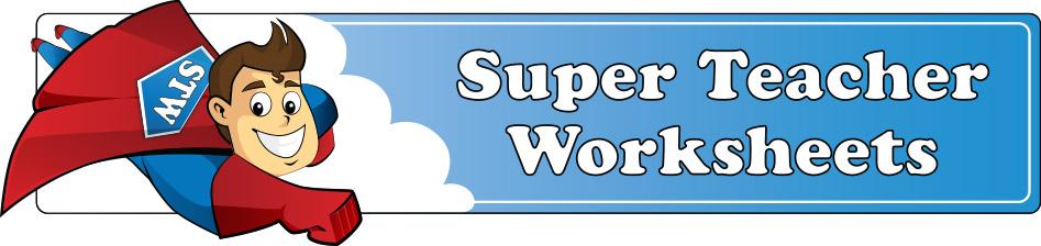 TPW Websites – Super Teacher Worksheets Multiplication Word Problems